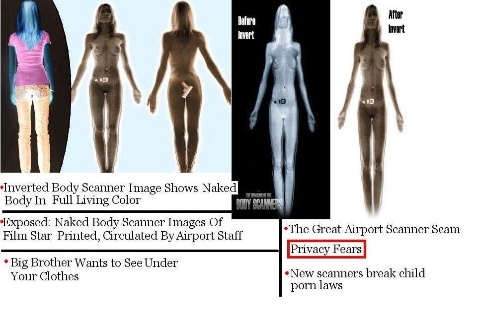 Naked airport body scanners banned in europe