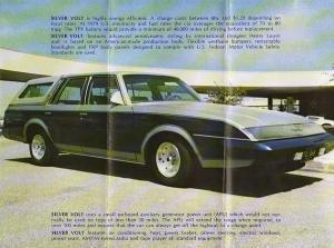 1980 Silver Volt Electric Car