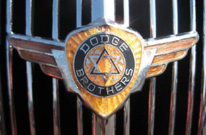 Early Dodge car emblem